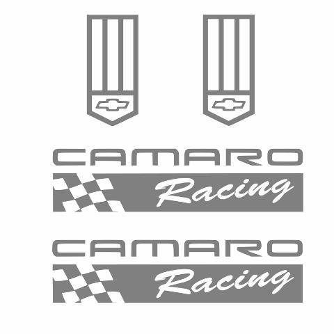 Camaro Racing Sticker badge any color Decal chevy z rs ss zl1 z28 lt iroc emblem