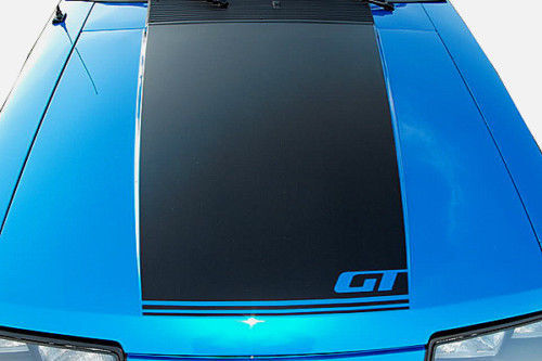 1979-1993 Ford Mustang GT Haubenstreifen Aufkleber Fox Body Beliebige Farbe 80 81 91 92