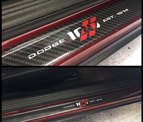 Dodge Challenger 100. Jahrestag Türschwelle Vinyl Aufkleber Aufkleber