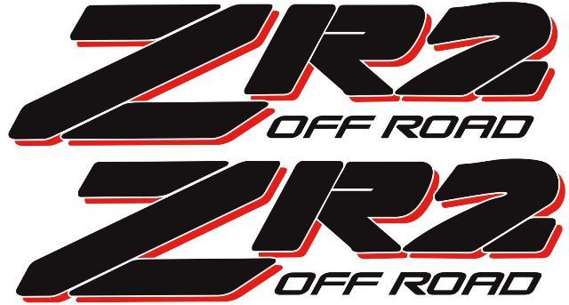 NEW 4X4 OFFROAD DECAL STICKER EXTREME S10 GMC Sonoma ZR-2 ZR2 731