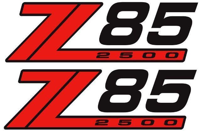 NEU 4X4 OFFROAD Z85 2500 DECAL STICKER EXTREME