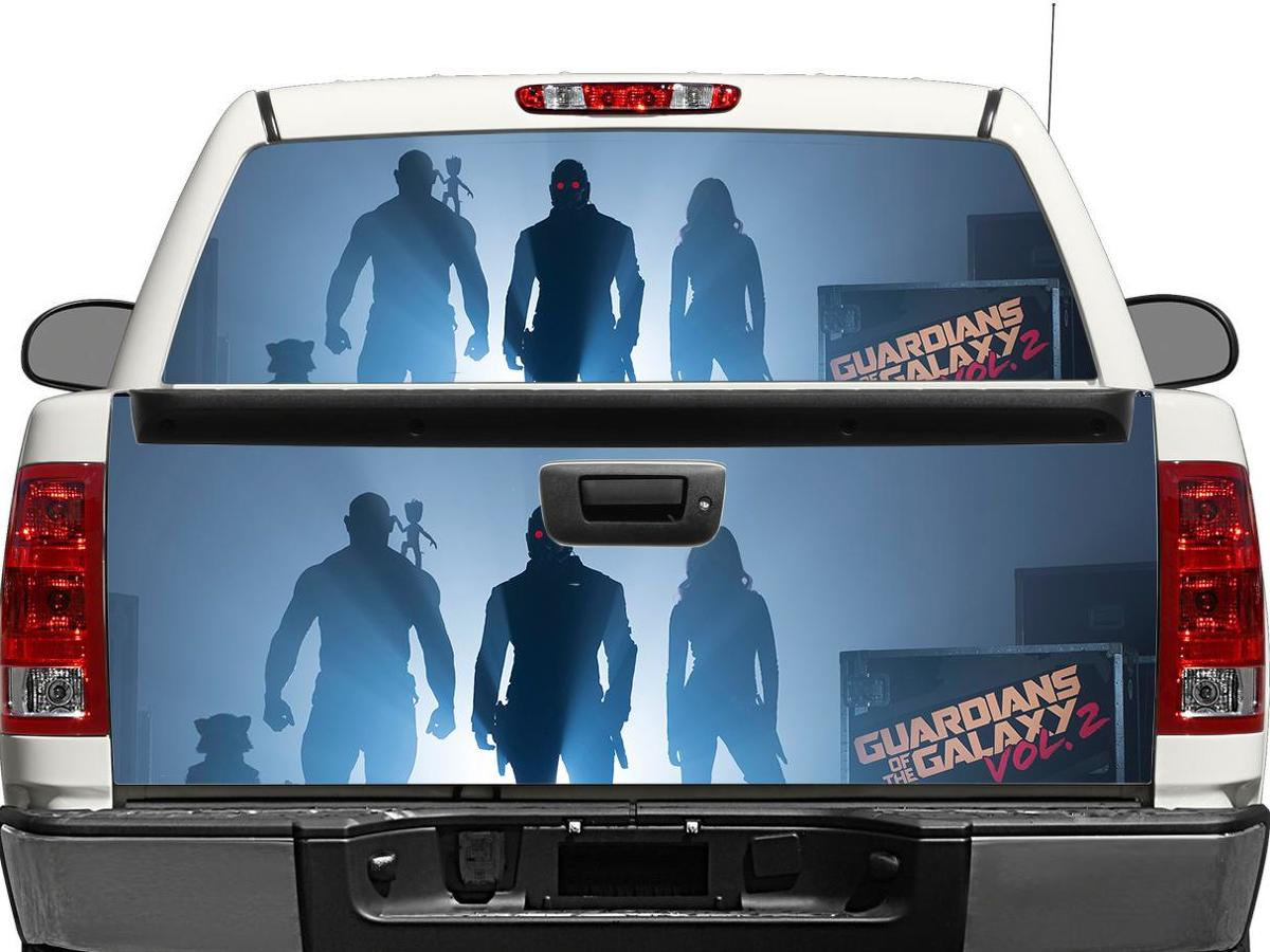 Guardians-of-the-Galaxy Rear Window OR tailgate Decal Sticker Pick-up Truck SUV Car