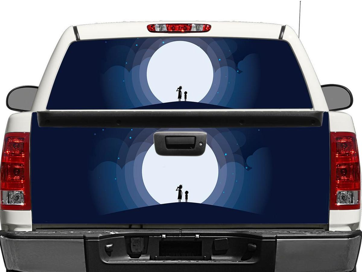 Rick and Morty 11 Rear Window OR tailgate Decal Sticker Pick-up Truck SUV Car