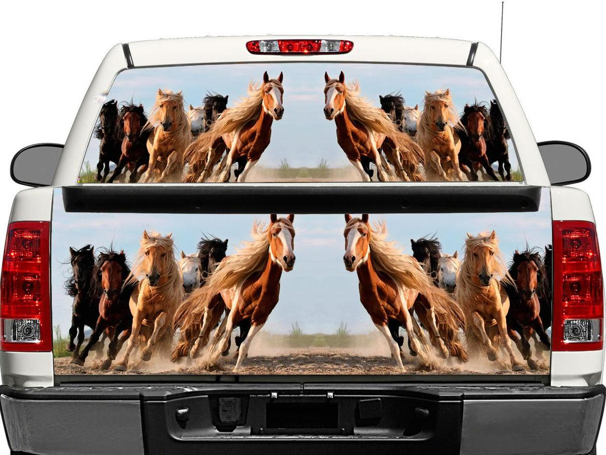 Iron Man heroes Rear Window Decal Sticker Pick-up Truck SUV Car