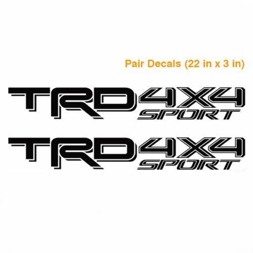 Toyota TSS Sport Series Tacoma Tundra Truck  Decals Stickers Vinyl Pair