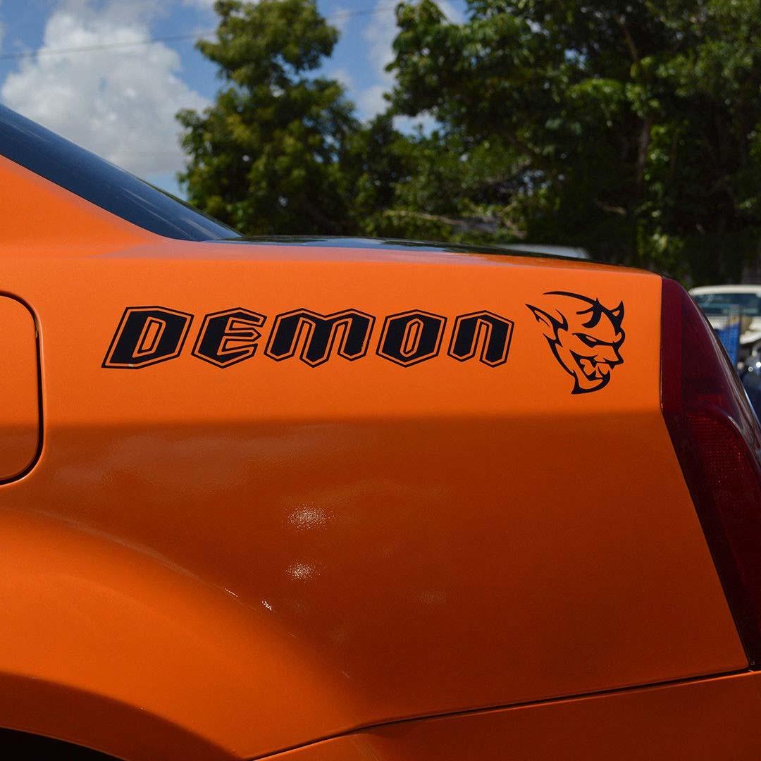 Dodge Challenger SRT Demon Vinyl Aufkleber Aufkleber Auto Auto LKW Seite