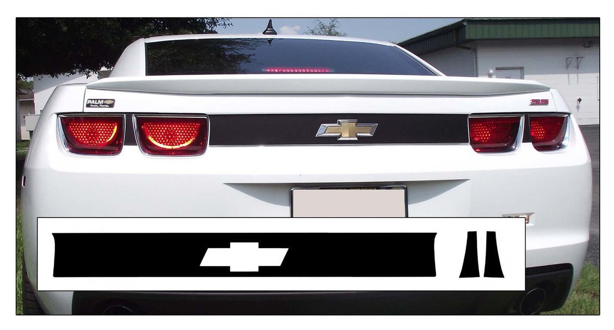 2010-13 CHEVY CAMARO - REAR TRUNK ACCENT STRIPE