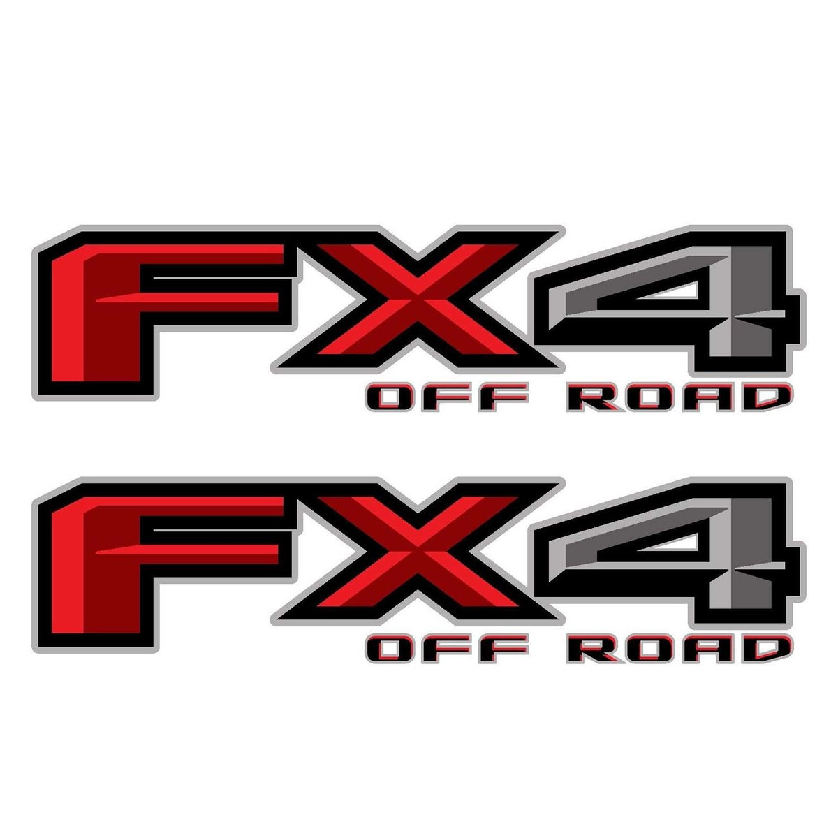 Ford F150 FX4 Off Road Decals F Stickers Truck Bed Side Set of 2