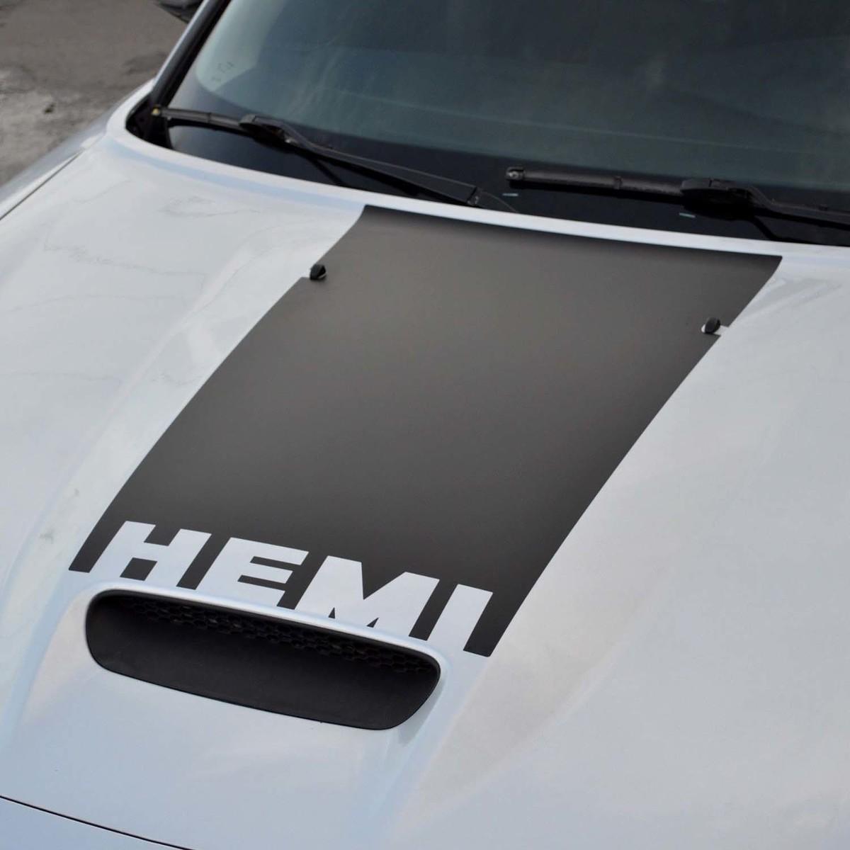 Dodge Charger HEMI Super Bee SRT8 Haubenschaufelverdunkelung vorgeschnitten 2006 - 2010