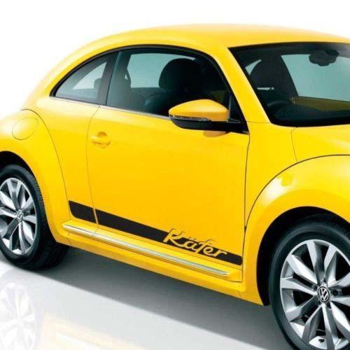 Volkswagen Beelte 2012-2018 Kafer Graphics Seitenstreifen Aufkleber Porsche Schrift