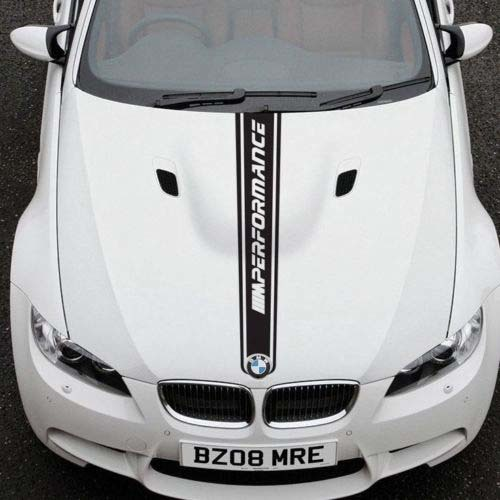 BMW 3 Series E92 hood graphics stickers decals M SPORT M Performance 2016 M  Tech
