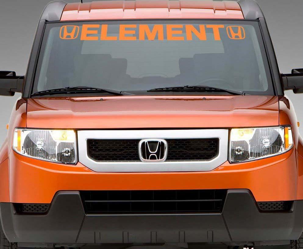 Product Element Honda Windshield Banner Car Decal Custom