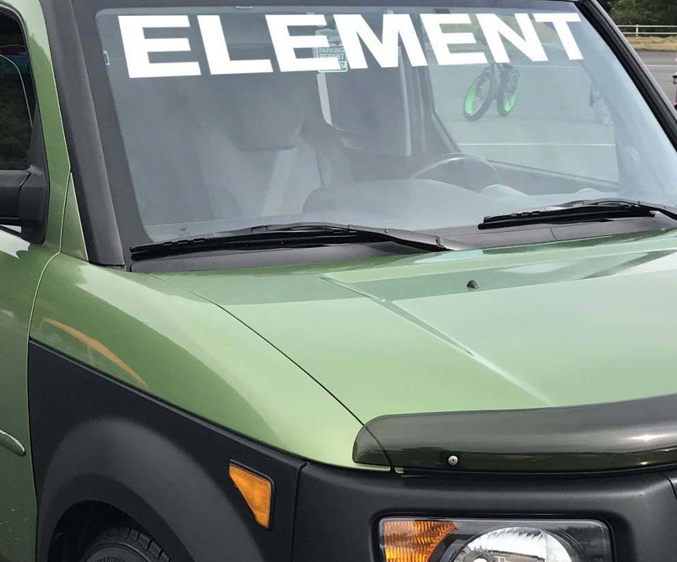 Product honda element windshield banner car graphic car decal vinyl sticker custom jdm window graphic