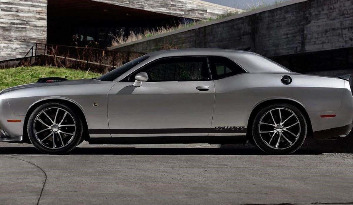 Dodge Challenger Tough Side Accent Stripes für 2015+ passt für 2008-2014 Decals