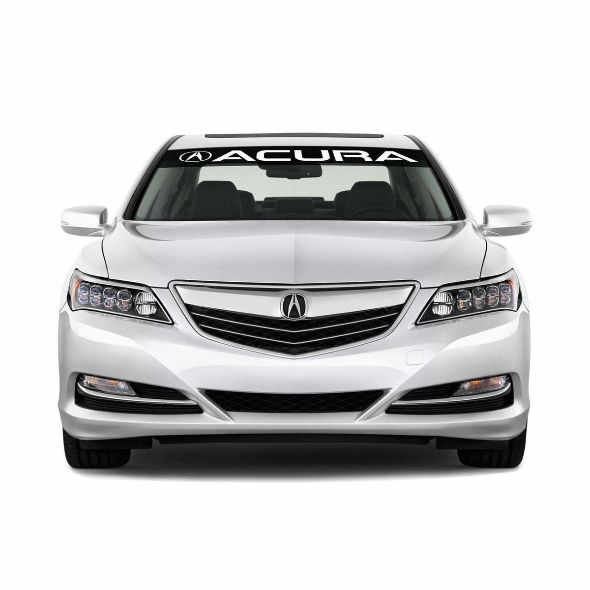 Acura Logo Windschutzscheibe Vinyl Aufkleber Aufkleber Emblem Fahrzeuggrafiken