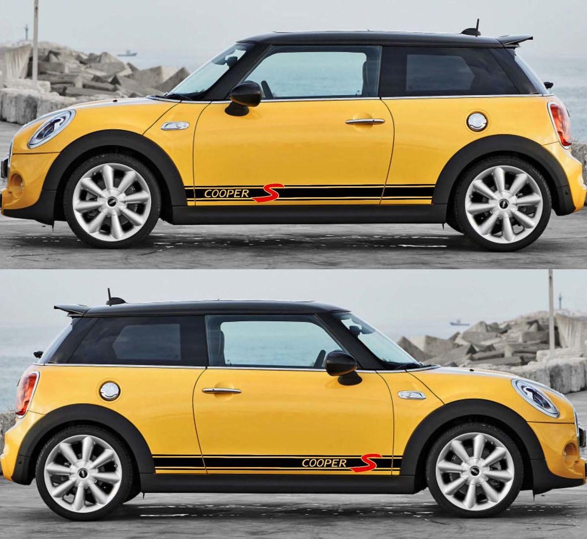 sticker//decals//stripes Cooper S Style side stripe for MINI -