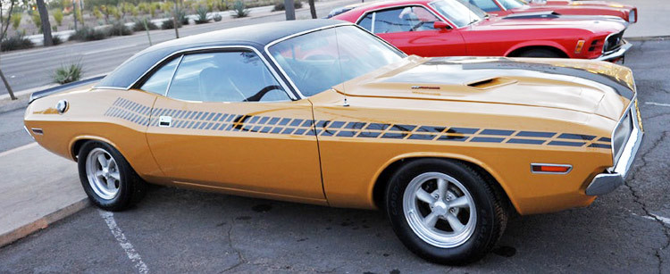 Product: 1970- 1974 Dodge Challenger 1971 R/T Style Side