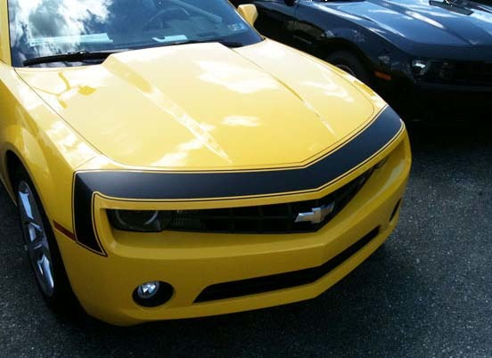 2010 - 2013 Chevrolet Camaro 1967 SS New Style Front Nose Stripe