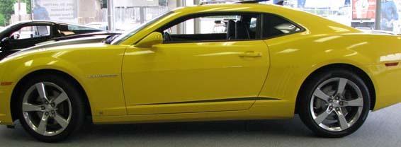 2010 - 2015 Chevrolet Camaro Akzentstreifen für den Unterkörper