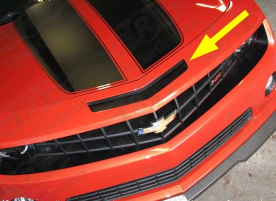 2010 Chevrolet Camaro SS Intake Blackout Decal kit