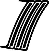 2010 - 2015 Chevrolet Camaro Heckscheibenverkleidung Akzent Verdunkelungsaufkleber innen und außen Combo