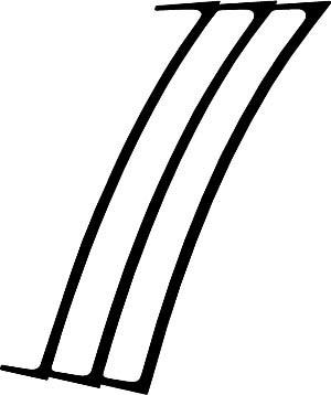 2010 - 2015 Chevrolet Camaro Heckscheibenverkleidung