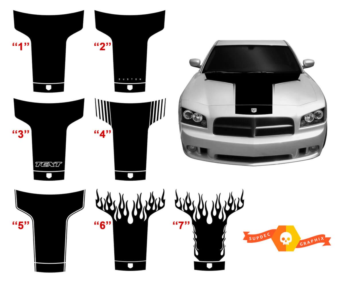 2006-2010 Dodge Charger Einteiliges Vintage