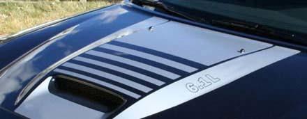 2006-2010 Ladegerät SRT Hood Main Decal Kit