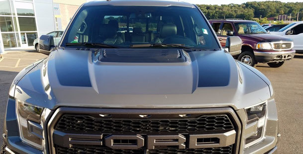 2015 & Up Ford F150 Hood Spear Stripes