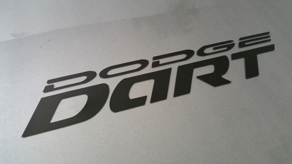 2013 2014 2015 2016 13 14 15 16 Dodge Dart Tür Logo Aufkleber Set Paar