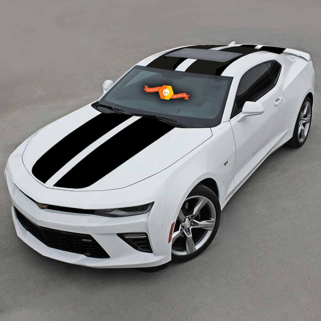 CHEVROLET CAMARO 2016 -2018 OVER THE TOP RACING DOUBLE VINYL STRIPES