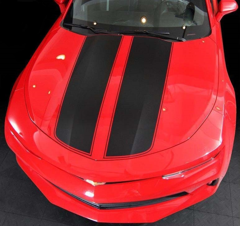 Rear Quarter COPO Vinyl Graphics Decals Stripes for Chevy Camaro 2010 to 2013