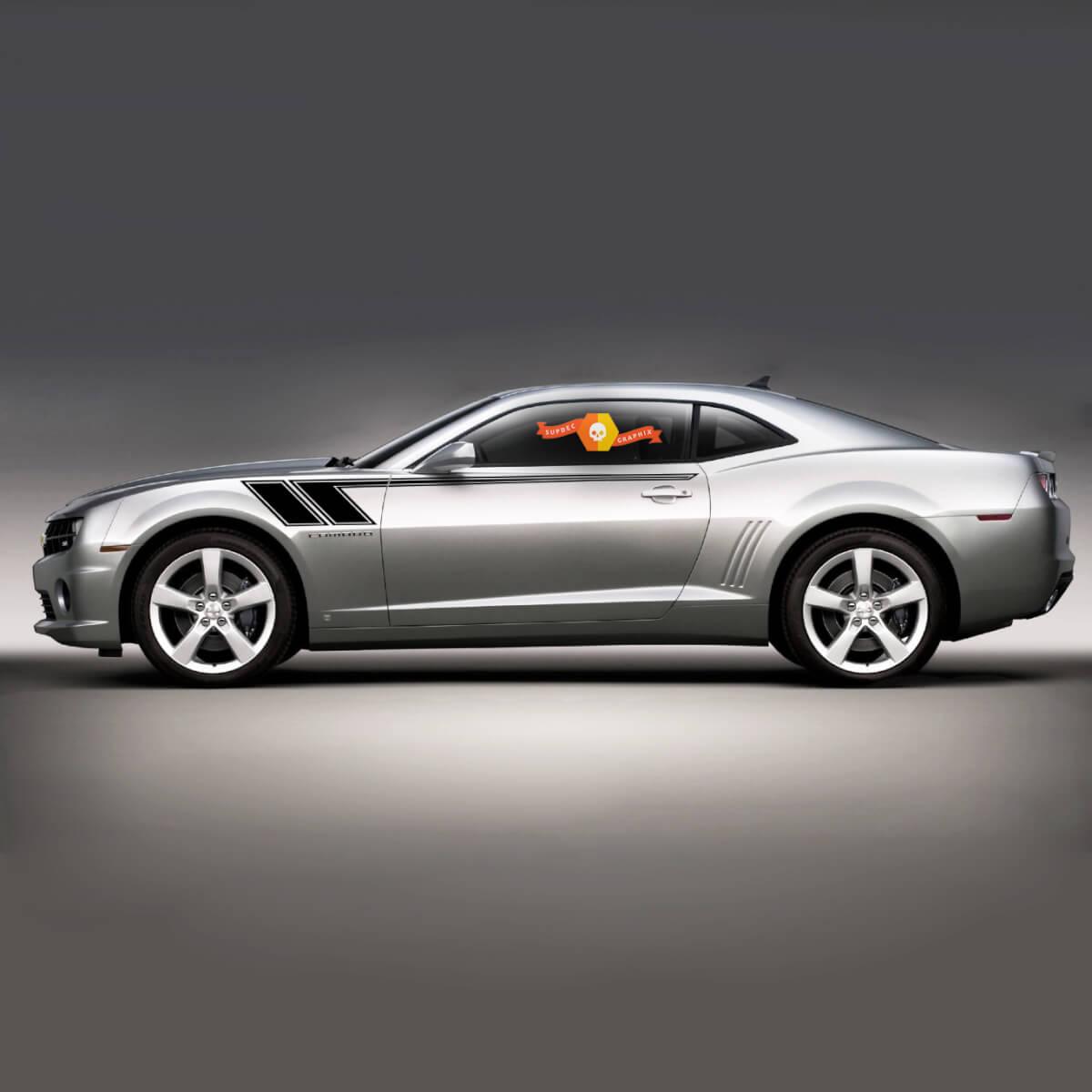 Chevrolet Camaro 2010-2020 Hash Speed Seite Akzent Streifen Aufkleber