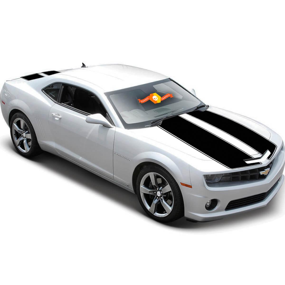 Chevrolet Camaro 2010-2015 Racing Stripes Hummeltransformatoren