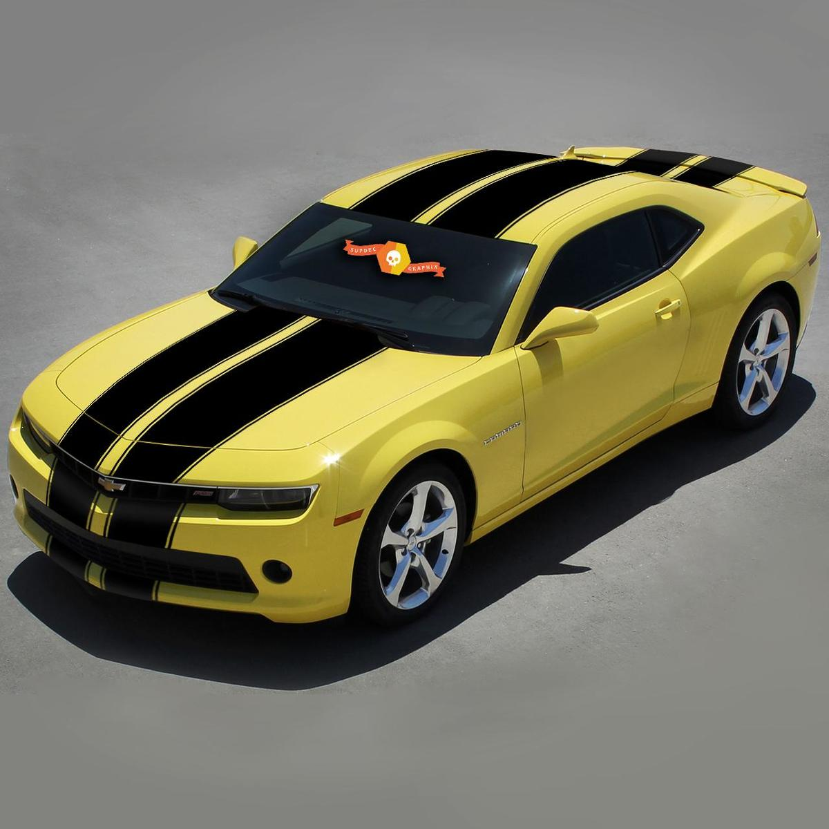 CHEVROLET CAMARO 2010-2013 TAPERED RALLY RACING Vinyl STRIPES