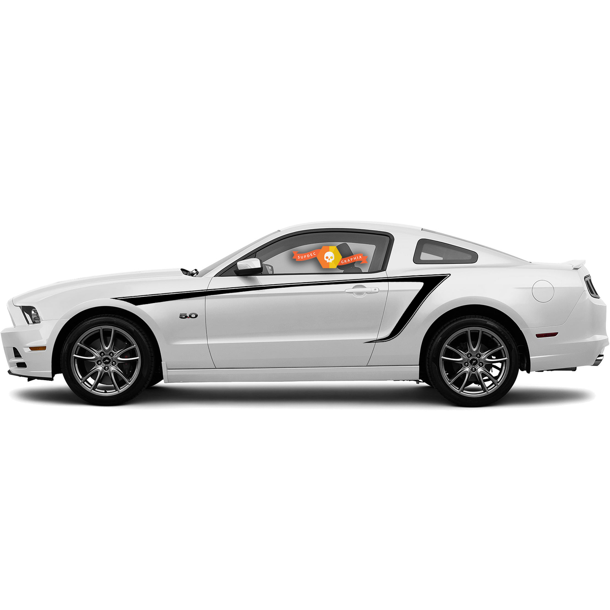 FORD MUSTANG 2010- 2020 SIDE ACCENT STRIPES