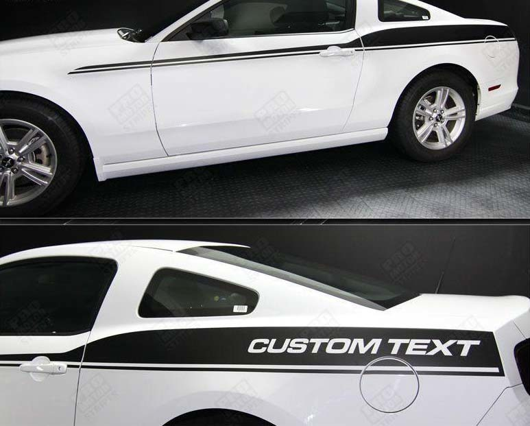 FORD MUSTANG 2005- 2020 JAVELIN SIDE ACCENT STRIPES