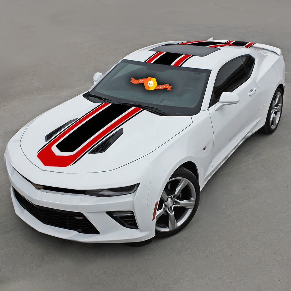 CHEVROLET CAMARO 2016-2018 HOT WHEELS STYLE TOP STRIPES