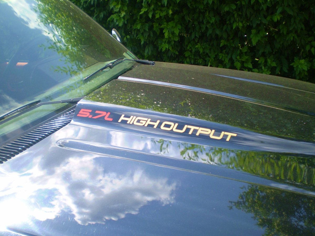 5.7L High Output Hood Decals