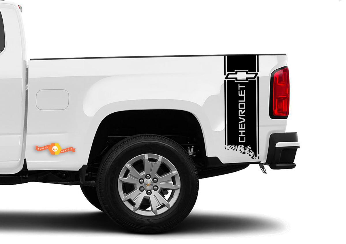 CHEVROLET COLORADO 2x Körper Aufkleber Grafiken Vinyl Aufkleber Logo Premium-Qualität