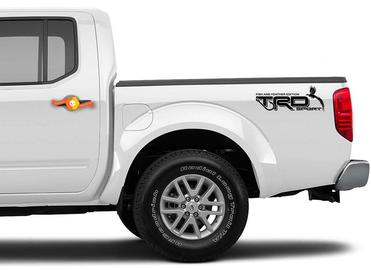 Toyota Tacoma Tundra Trd Sport Decal Sticker Fish And Feather Edition 4x4 Baja