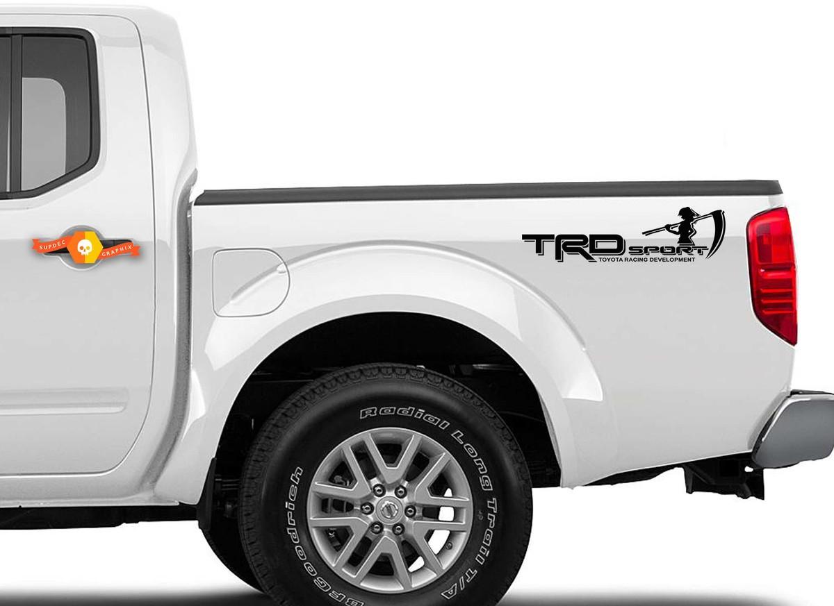 TOYOTA TRD OFF ROAD 2x body Vinyl Decal stickers Sport Racing emblem logo