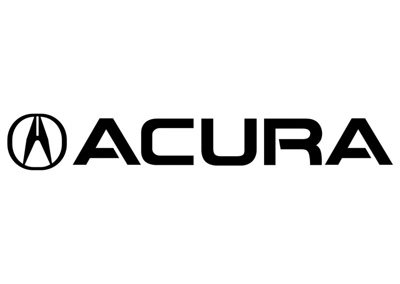 ACURA 1994 Self adhesive vinyl Sticker Decal