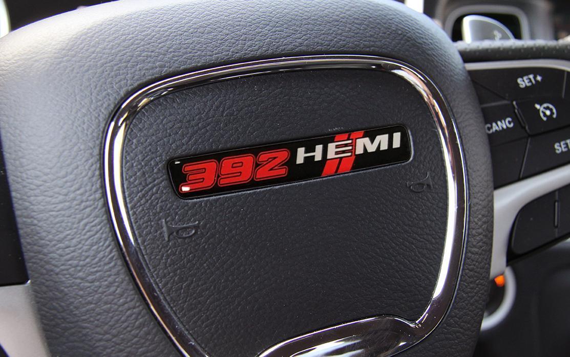 Dodge Challenger 345 HEMI Hood Decal 2008-2009-2010-2011-2012-2013-2014