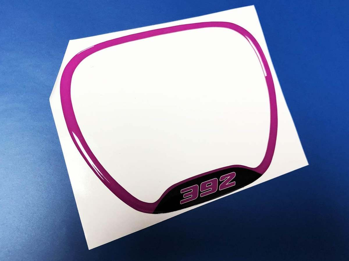 """Graphic Decal 8008 White Rally Stripe Decal Racing Stripe 6/"""" x 24/'"""