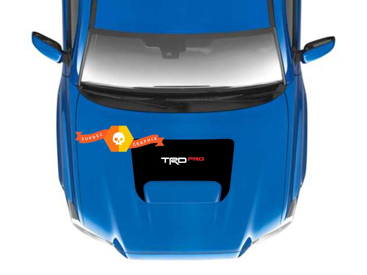 Toyota Tacoma TRD PRO Sport 4x4 OFF ROAD Motorhaube Schaufel Vinyl Aufkleber Grafiken 2016 2017 2018 2019 2020