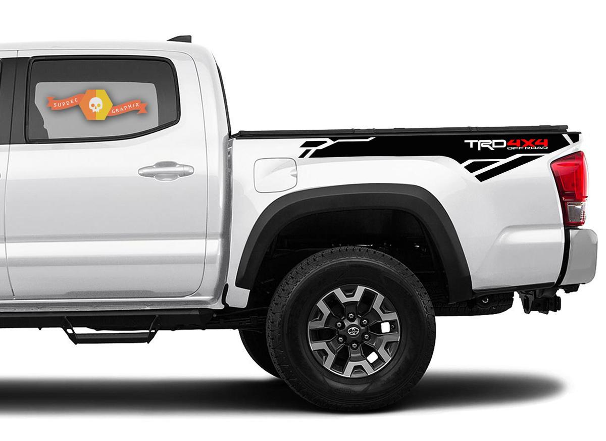 Toyota 4Runner Vinyl Decal Sticker Graphics TRD Sport Side Door x2 ANY COLOR 023