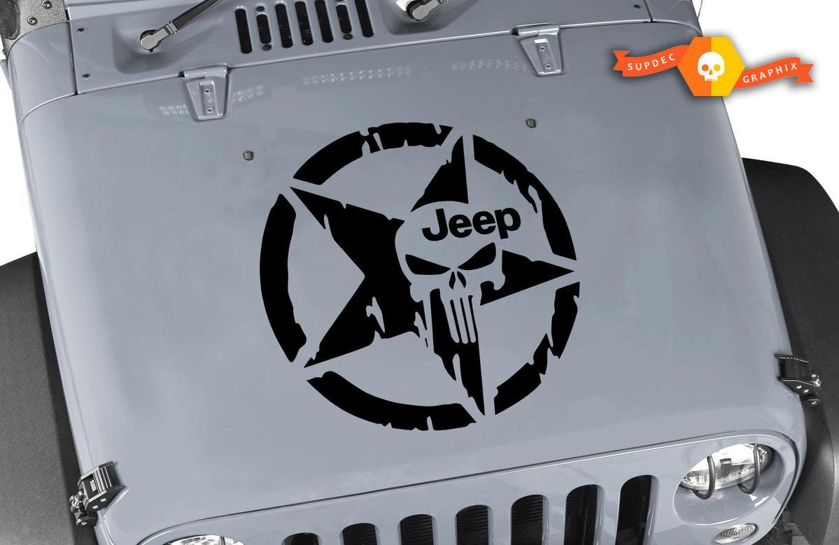 Jeep Hood Aufkleber - 20