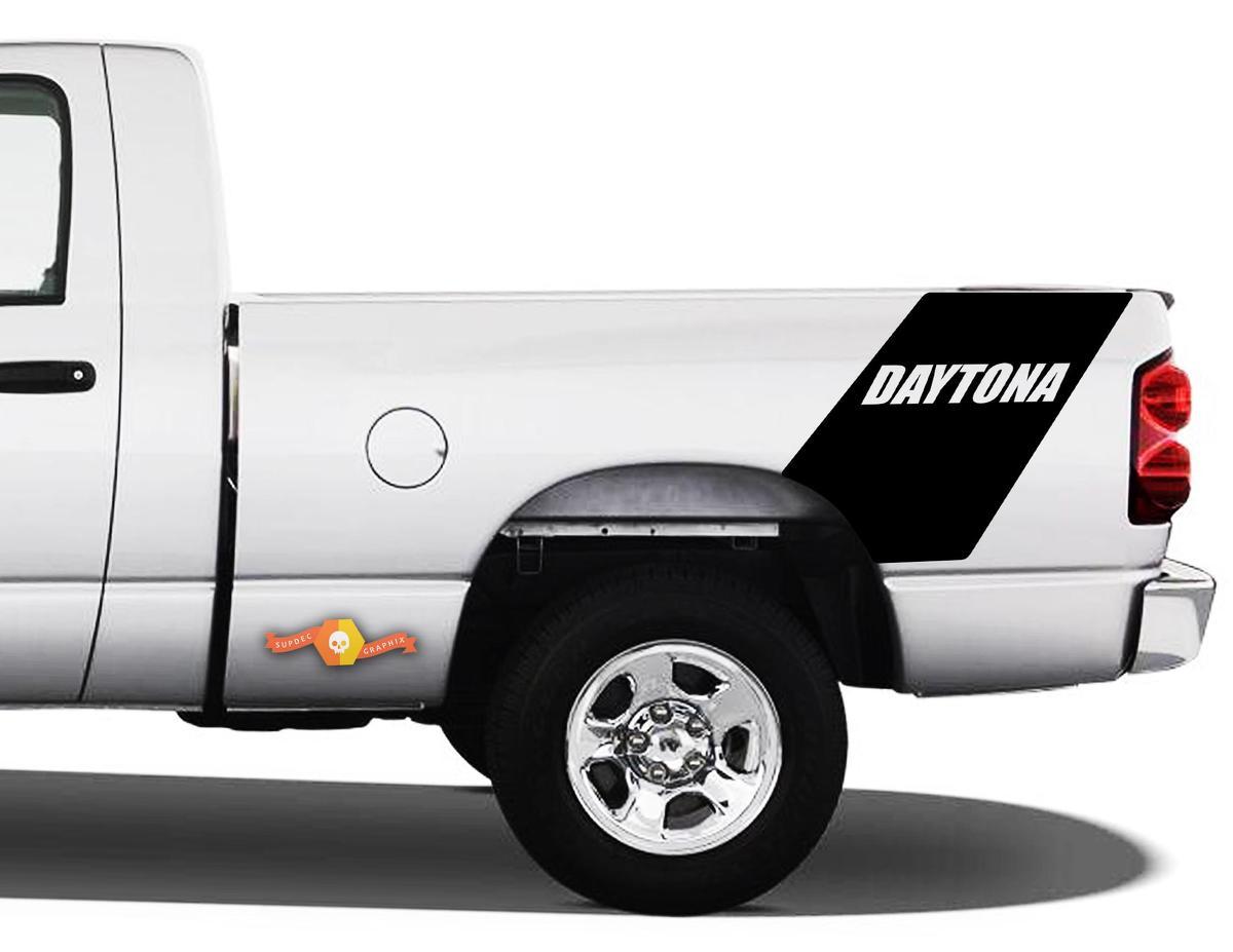 Daytona Dodge Ram 1500 Bed Side Racing Heckstreifen Vinyl Aufkleber Aufkleber - 2