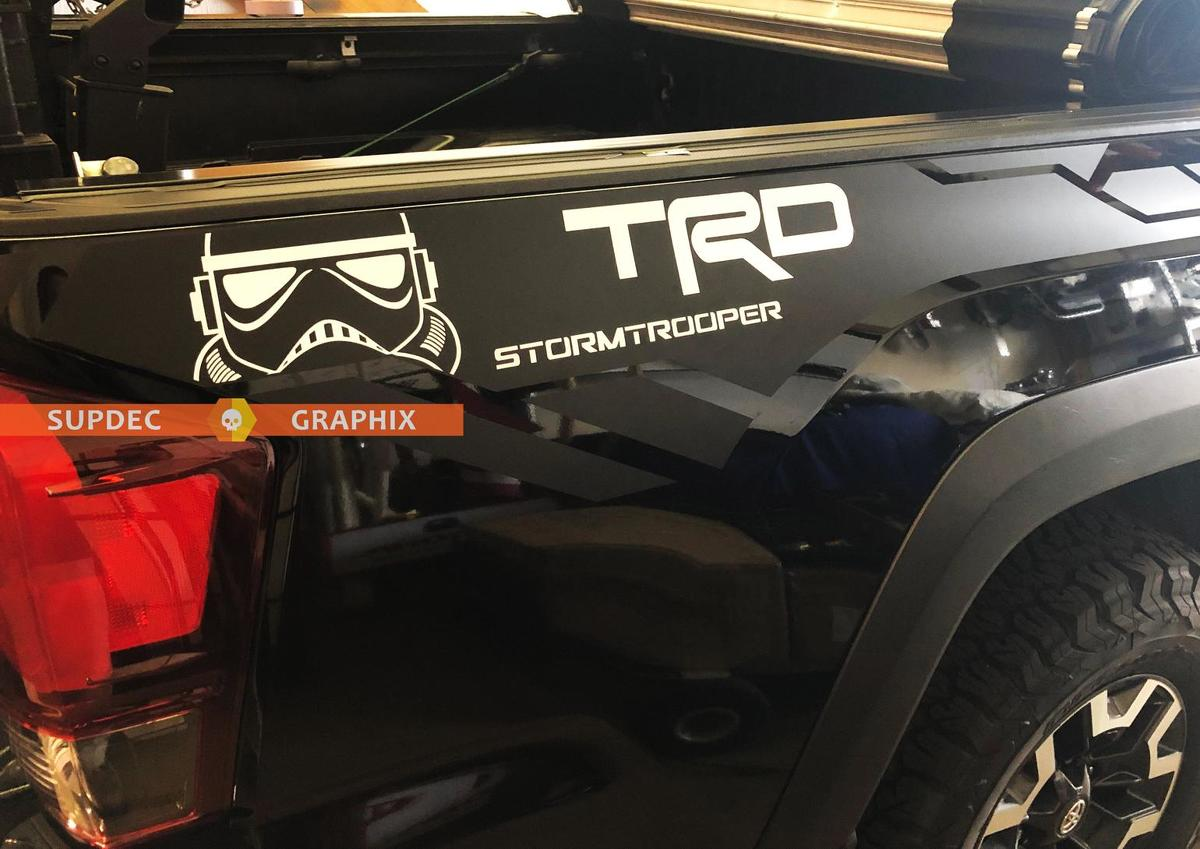 TRD 4x4 Offroad Stormtrooper Edition Vinyl Aufkleber